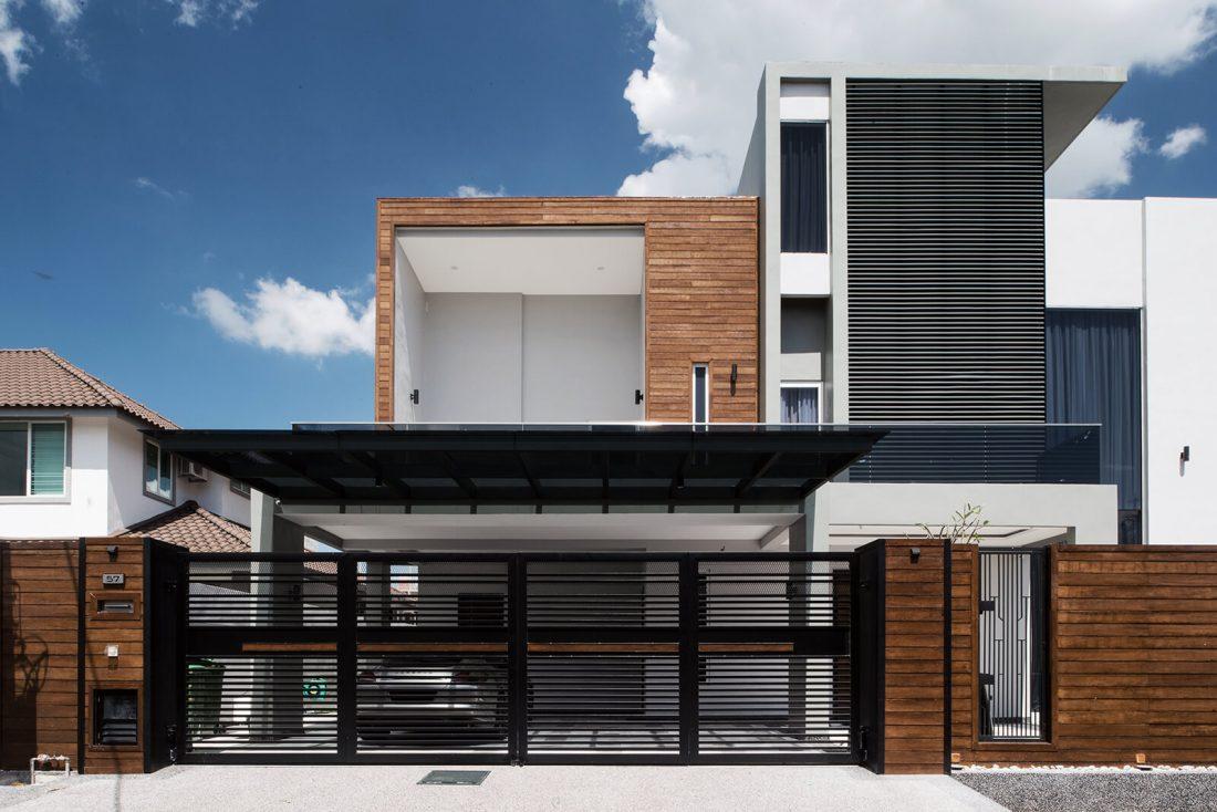 Exterior Design Private Bungalow Alor Setar Kedah Malaysia v3