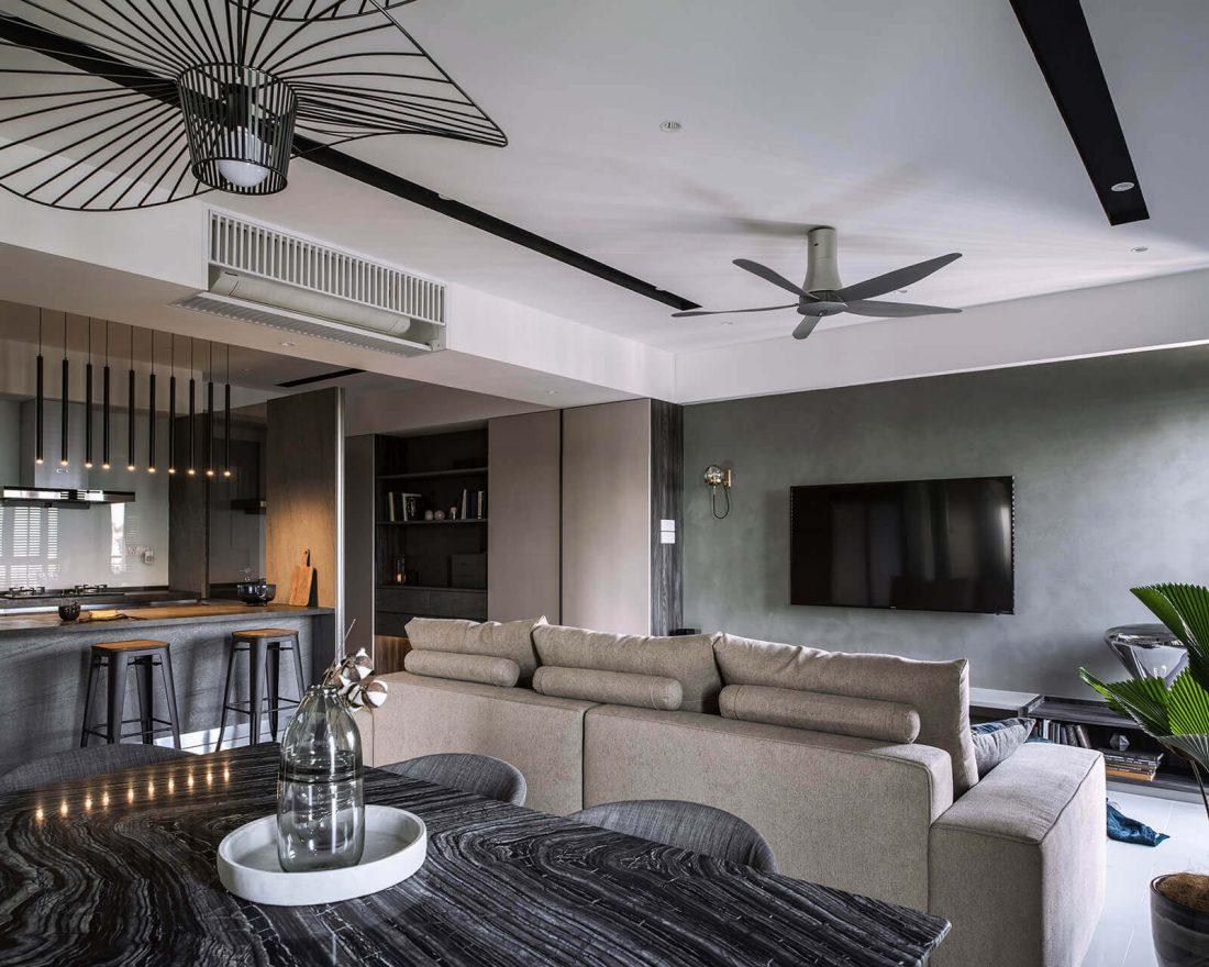Interior Design Raffel Tower Penang Malaysia Dining v1