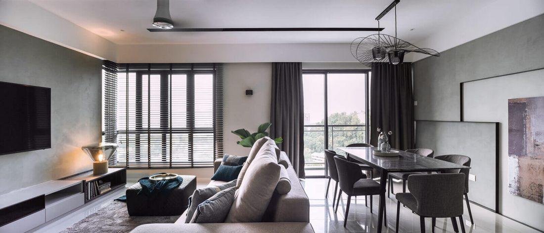 Interior Design Raffel Tower Penang Malaysia Dining v3