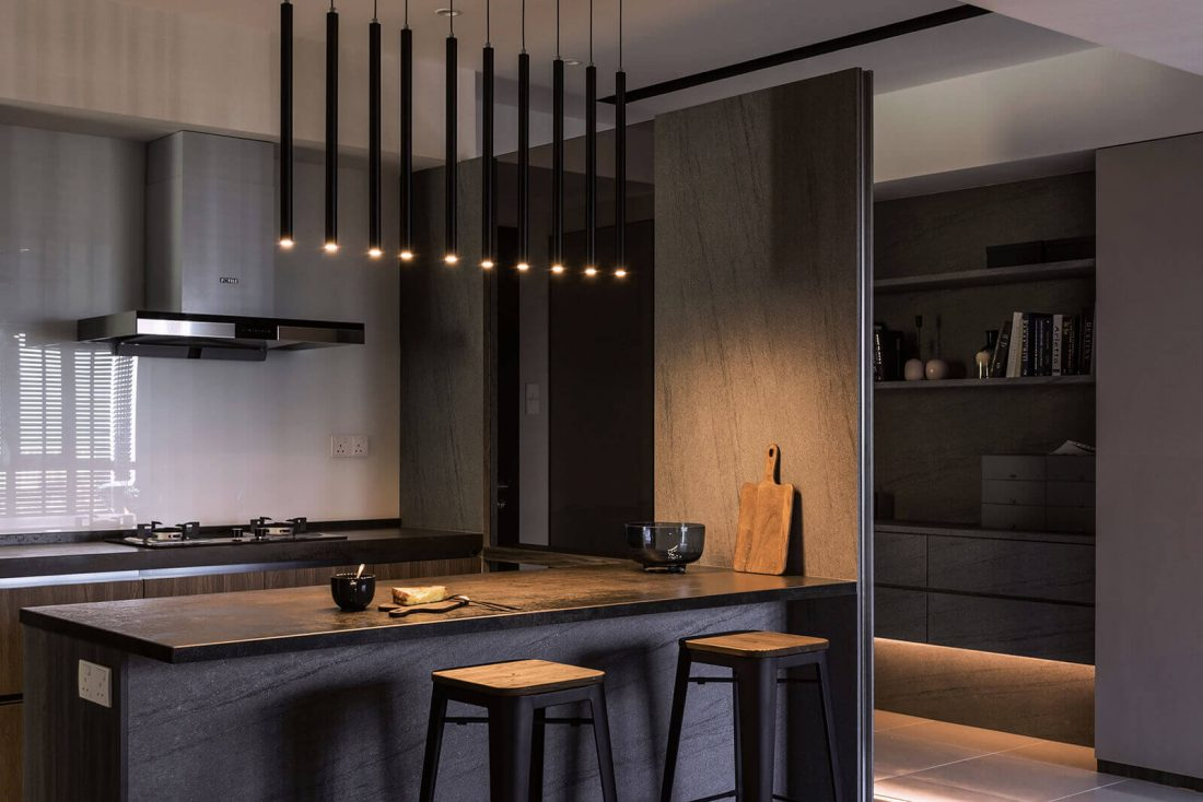 Interior Design Raffel Tower Penang Malaysia Kitchen v2