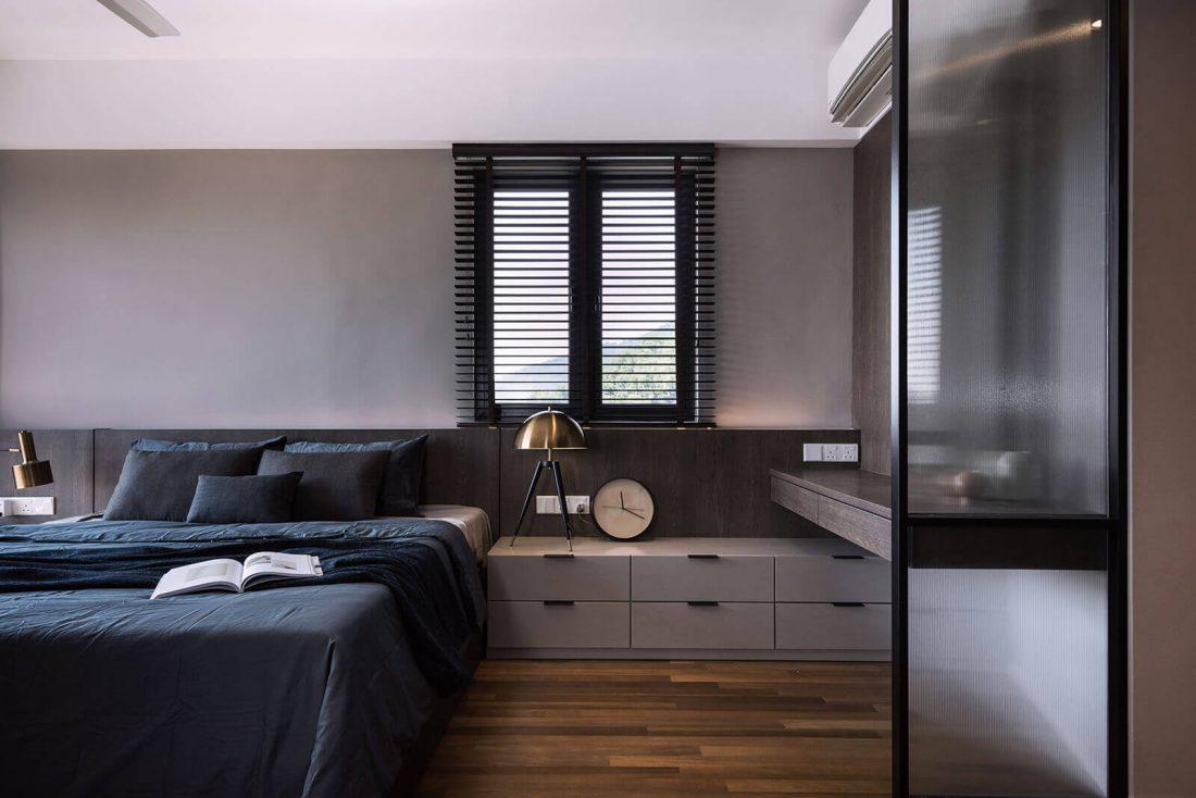 Interior Design Raffel Tower Penang Malaysia Master Bedroom v1