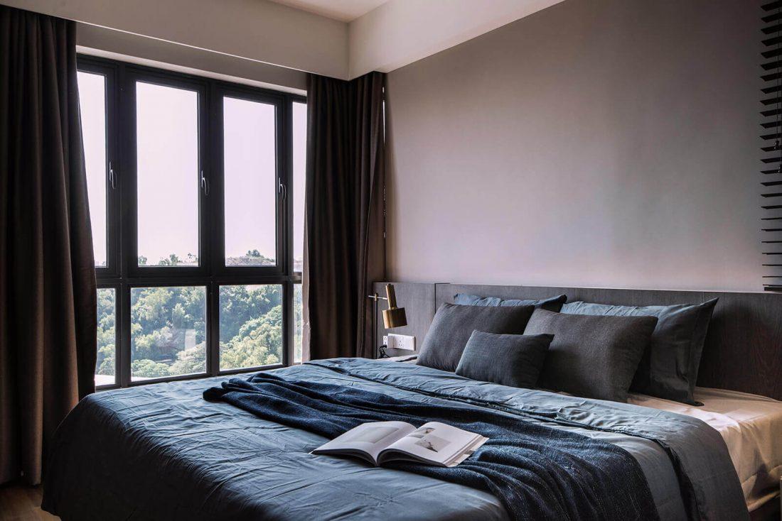 Interior Design Raffel Tower Penang Malaysia Master Bedroom v2