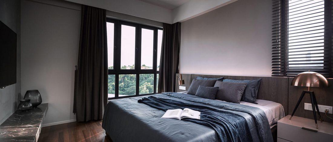 Interior Design Raffel Tower Penang Malaysia Master Bedroom v3