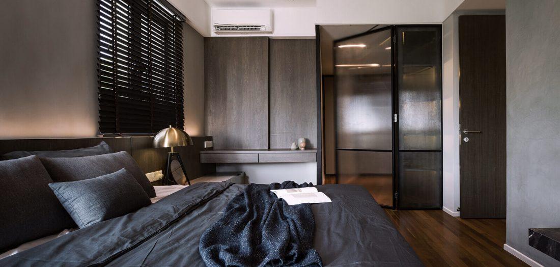 Interior Design Raffel Tower Penang Malaysia Master Bedroom v4
