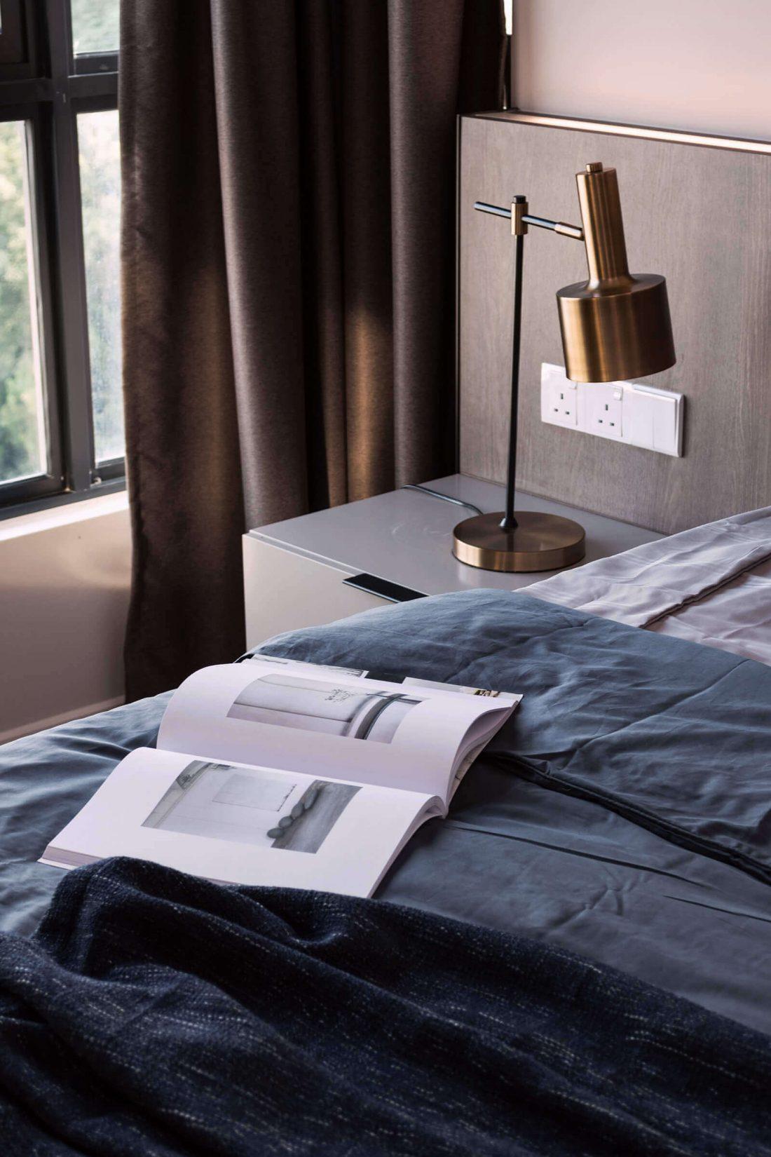 Interior Design Raffel Tower Penang Malaysia Master Bedroom v5