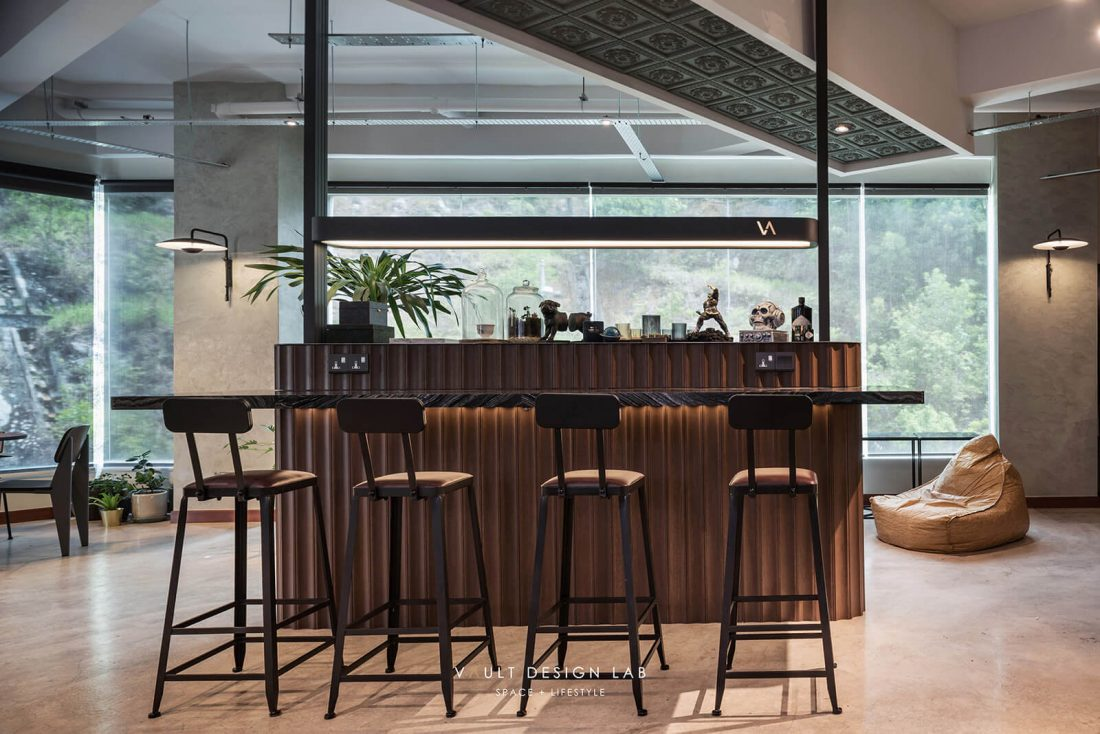 Office bar counter design