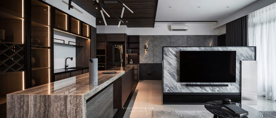 Interior Design The Light Collection III Penang Malaysia Dry Kitchen Design v1
