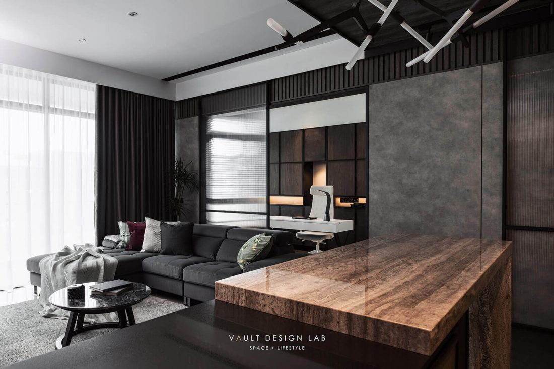 Interior Design The Light Collection III Penang Malaysia Living Room Design v7