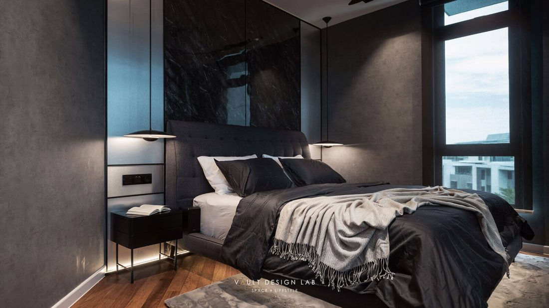Interior Design The Light Collection III Penang Malaysia Master Bedroom Design v1
