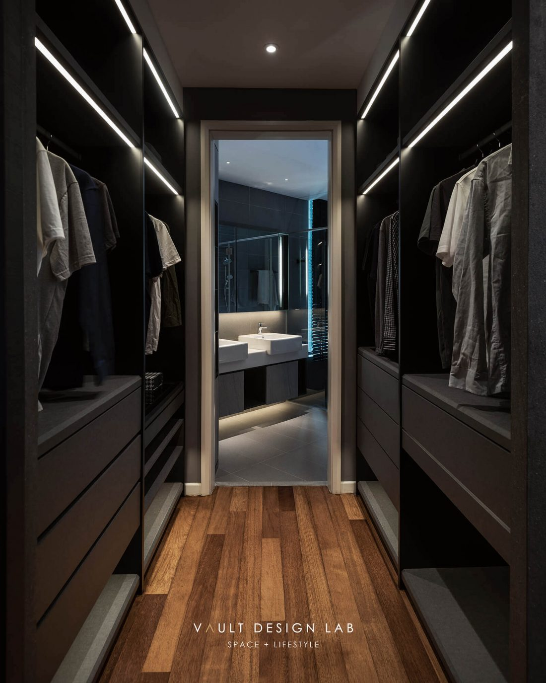 Interior Design The Light Collection III Penang Malaysia Master Bedroom Walk In Wardrobe Design v2
